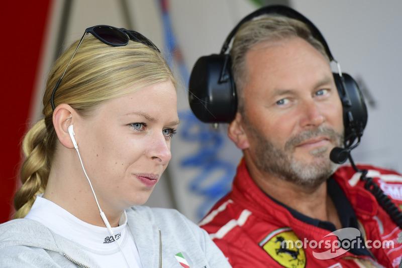 #60 Formula Racing, Ferrari F458 Italia: Christina Nielsen