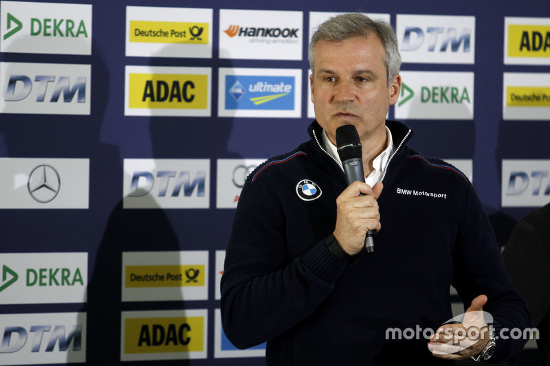 Press conference: Jens Maquardt, BMW Motorsport Director