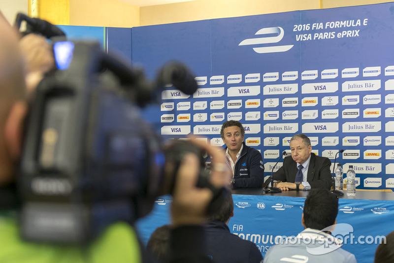 Alejandro Agag, Chef Formel E und Jean Todt, FIA Präsident