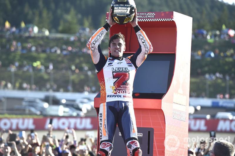 Kampiun 2018, Marc Marquez, Repsol Honda Team