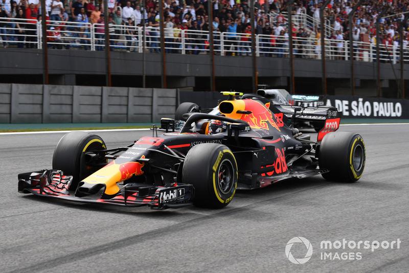 GP Brasil: Max Verstappen