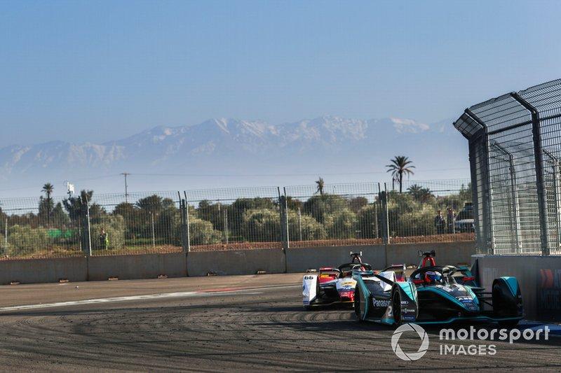 Mitch Evans, Jaguar Racing, Jaguar I-Type 3, Daniel Abt, Audi Sport ABT Schaeffler, Audi e-tron FE05
