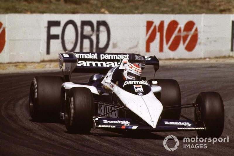 Nelson Piquet - Tre titoli (1981, 1983, 1987)