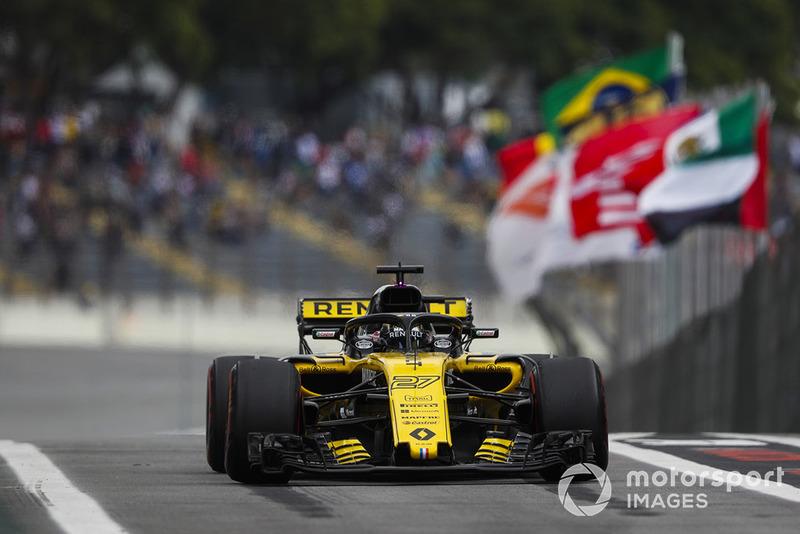 19. Nico Hulkenberg, Renault Sport F1 Team R.S. 18