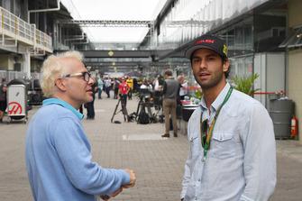 Felipe Nasr et Jacques Villeneuve, Canal+