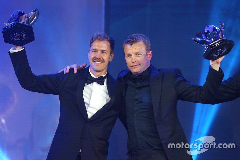 Sebastian Vettel et Kimi Räikkönen
