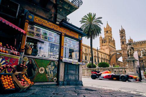 Red Bull: Showrun in Palermo