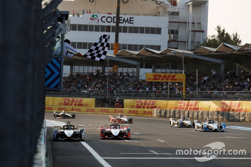 Lucas Di Grassi, Audi Sport ABT Schaeffler, Audi e-tron FE05, double Pascal Wehrlein, Mahindra Racing, M5 Electro