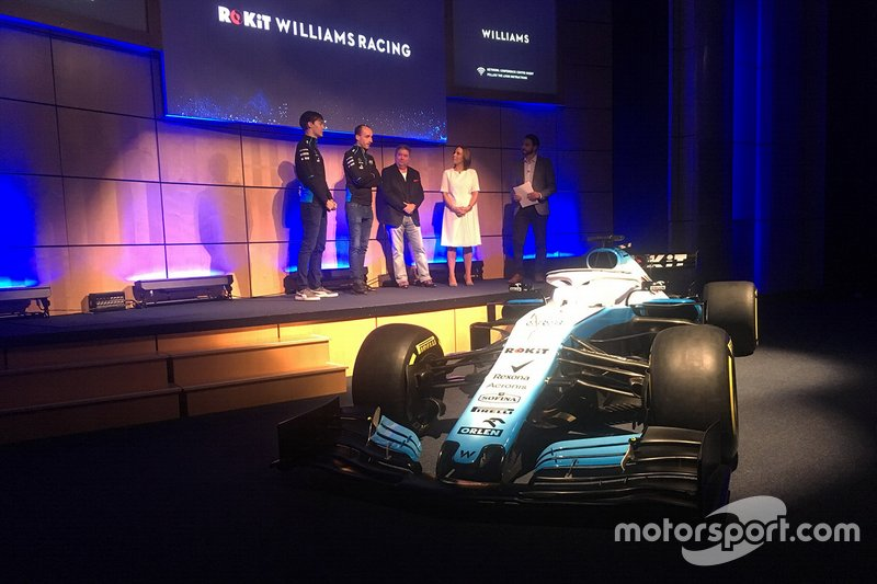 George Russell, Williams, Robert Kubica, Williams, Claire Williams,Subdirector del Equipo Williams