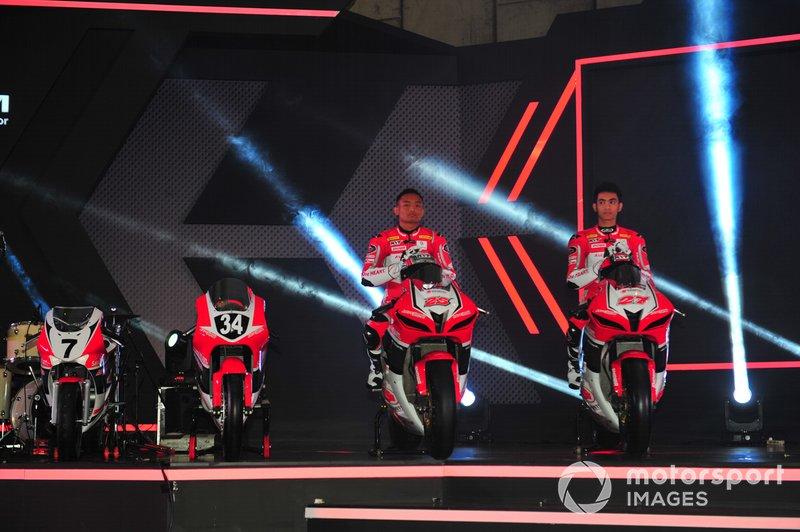 Rheza Danica, Andi Gilang, Astra Honda Racing Team