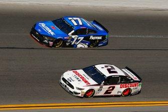 Brad Keselowski, Team Penske, Ford Mustang Discount Tire, Ricky Stenhouse Jr., Roush Fenway Racing, Ford Mustang Fastenal