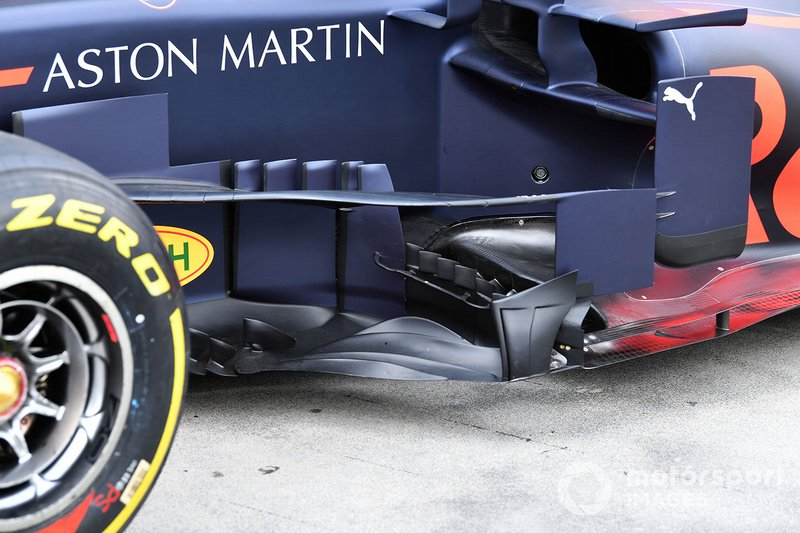 Red Bull RB15: novo bargeboard