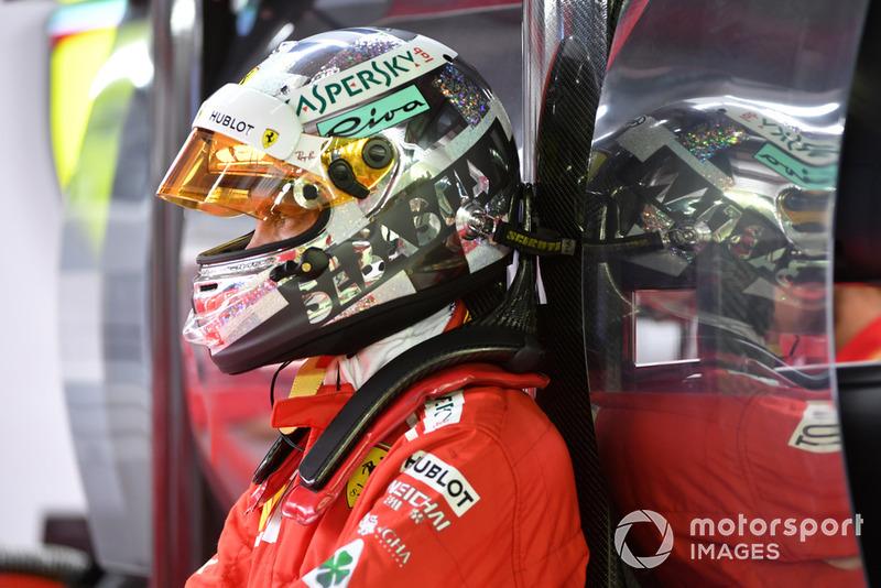GP Singapura - Sebastian Vettel