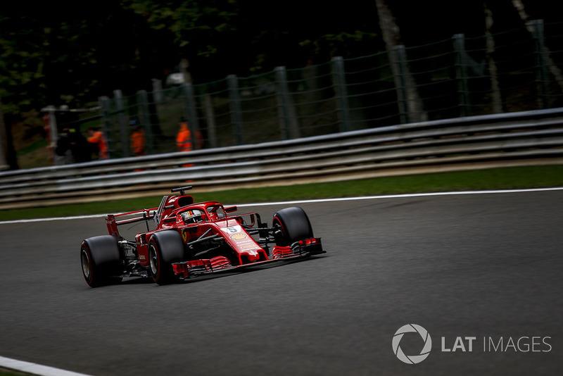 1 місце — Себастьян Феттель, Ferrari
