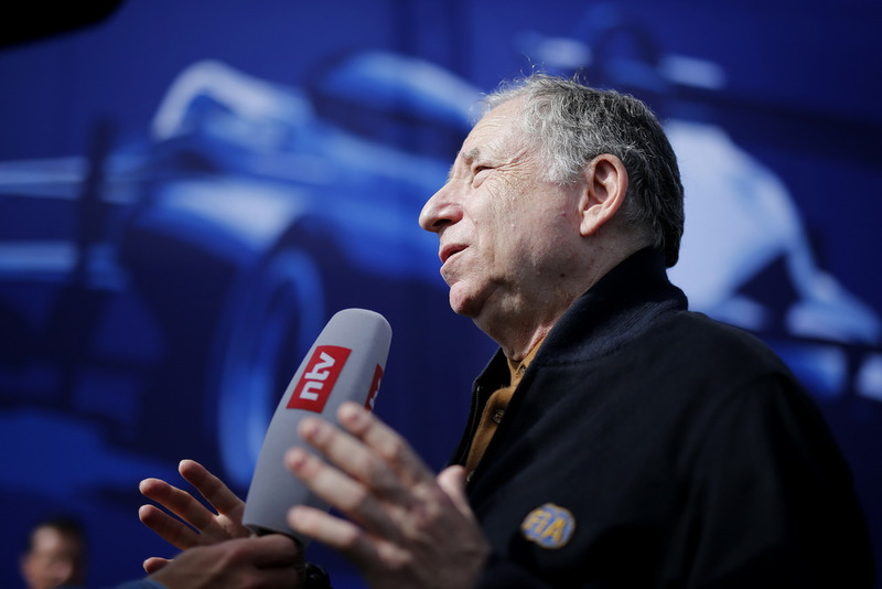 TV-Interview, Jean Todt, FIA president