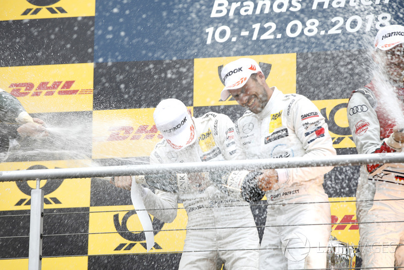 Paul Di Resta, Mercedes-AMG Team HWA, Gary Paffett, Mercedes-AMG Team HWA