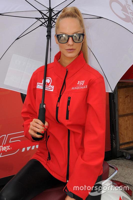 Grid girl Ducati Team