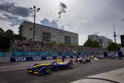 Sébastien Buemi, Renault e.Dams voor Jean-Eric Vergne, DS Virgin Racing