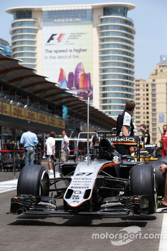 Sahara Force India F1 VJM09 de Nico Hulkenberg