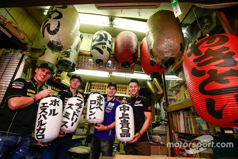 Pol Espargaro, Monster Yamaha Tech 3, Bradley Smith, Monster Yamaha Tech 3, Jorge Lorenzo, Yamaha Fa