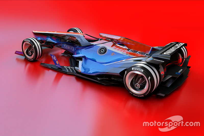Designstudie für 2030: Manor Racing