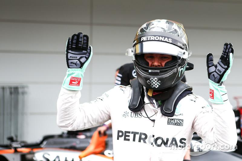 La pole 30º de Nico Rosberg... y la última