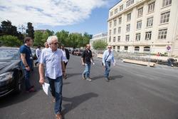 Чарли Уайтинг в Баку проверяет готовность трассы