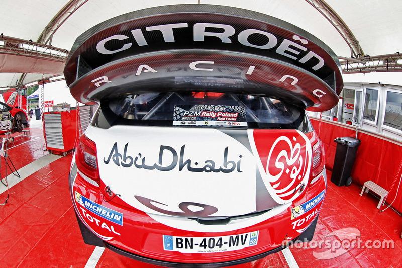 Detail, Citroën DS3 WRC, Abu Dhabi Total World Rally Team