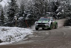 Pontus Tidemand, Jonas Andersson, Skoda Motorsport, Skoda Fabia R5