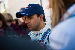 Felipe Massa, Williams with the media