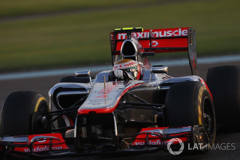 2012: McLaren MP4-27 Mercedes (семь побед, 3-е место в КК)