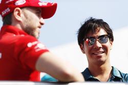 Nick Heidfeld, Mahindra Racing, Kamui Kobayashi, Andretti Formula E