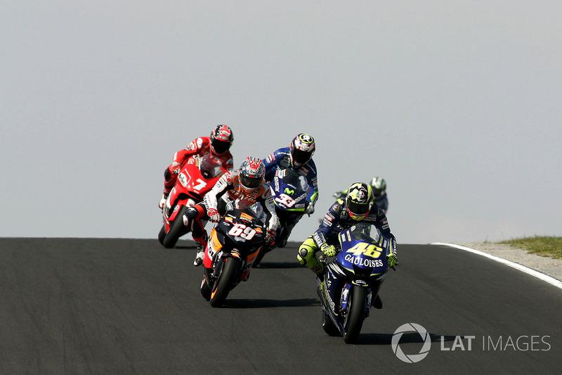 2005 : Valentino Rossi (Gauloises Fortuna Yamaha)
