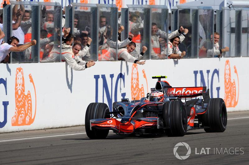 Heikki Kovalainen (McLaren) - GP Hongrie 2008