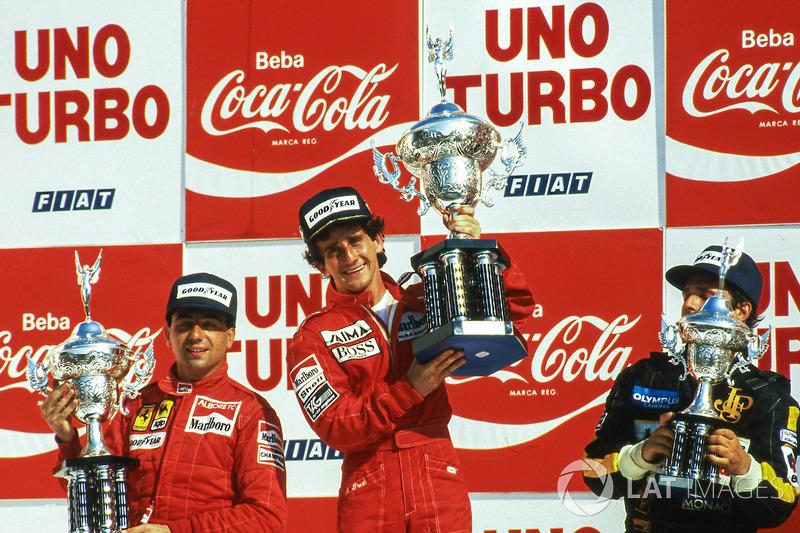 1985. Бразилія. Ален Прост, McLaren MP4/2B