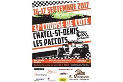 Bergrennen Châtel Saint Denis-Les Paccots, theaterplakat 2018