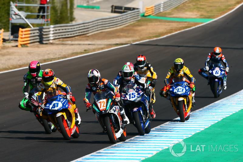 Omar Bonoli, KTM, Marc Garcia, Yamaha, Alfonso Coppola, Yamaha