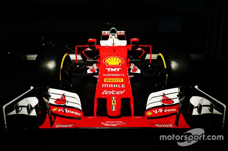 La Ferrari SF16-H