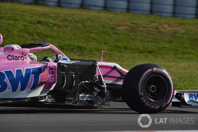 Nicholas Latifi, Force India VJM11 con sensores