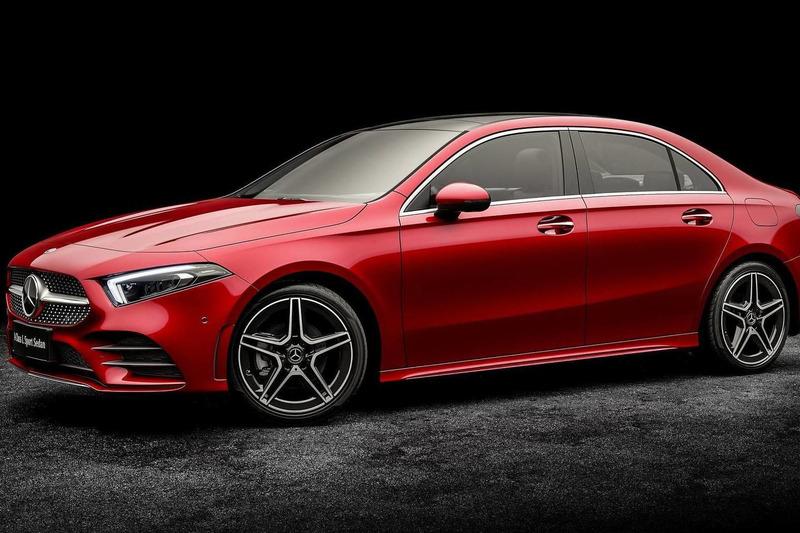 Autó A kínai piacra hangolt változattal debütált a Mercedes A-osztály szedán kivitele