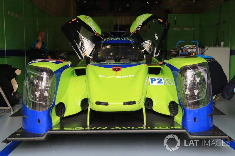 #44 Eurasia Motorsport Ligier JSP217 Gibson