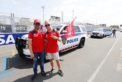 Nick Heidfeld, Mahindra Racing, Felix Rosenqvist, Mahindra Racing.