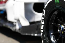 Pirelli band van Sauber