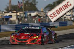 Лоусон Ашенбах, Джастин Маркс, Марио Фарнбахер, Michael Shank Racing, Acura NSX (№93)