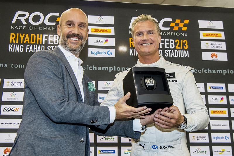 Il vincitore David Coulthard
