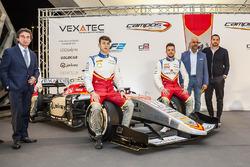 Adrian Campos, Leonardo Pulcini, Luca Ghiotto, Salvatore Gandolfo and Serkan Kajan, Campos Racing