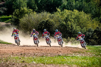 El Monster Energy Honda Team al completo
