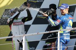 Podyum: Yarış galibi Marco Melandri