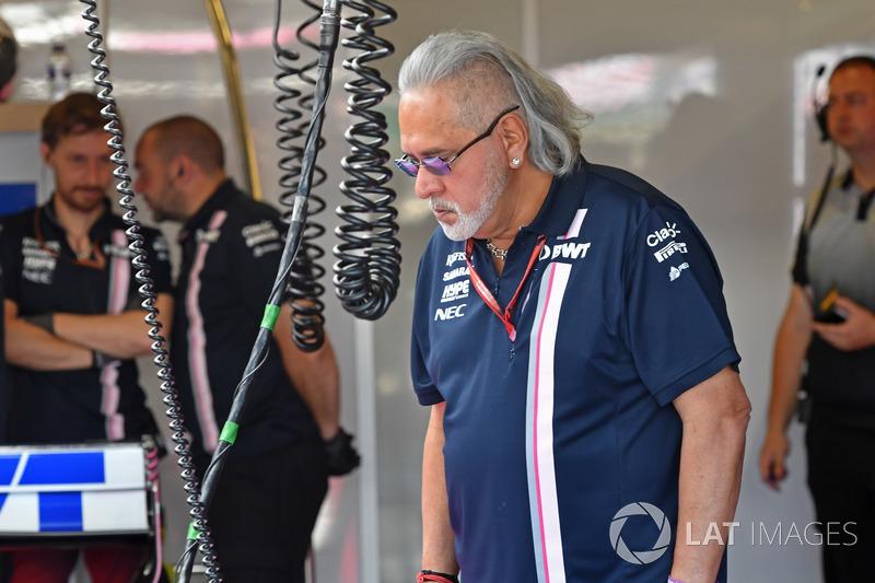 Власник Force India Віджей Маллья