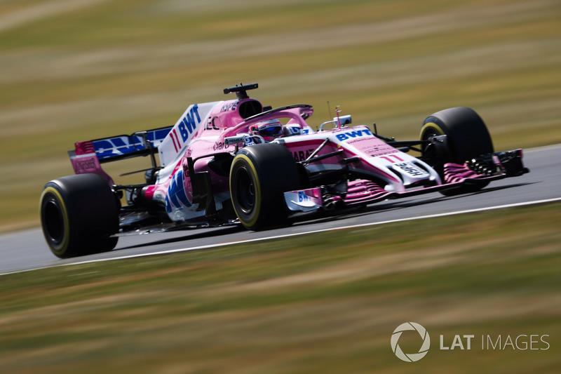 4º Sergio Perez, Force India VJM11 (579 vueltas)
